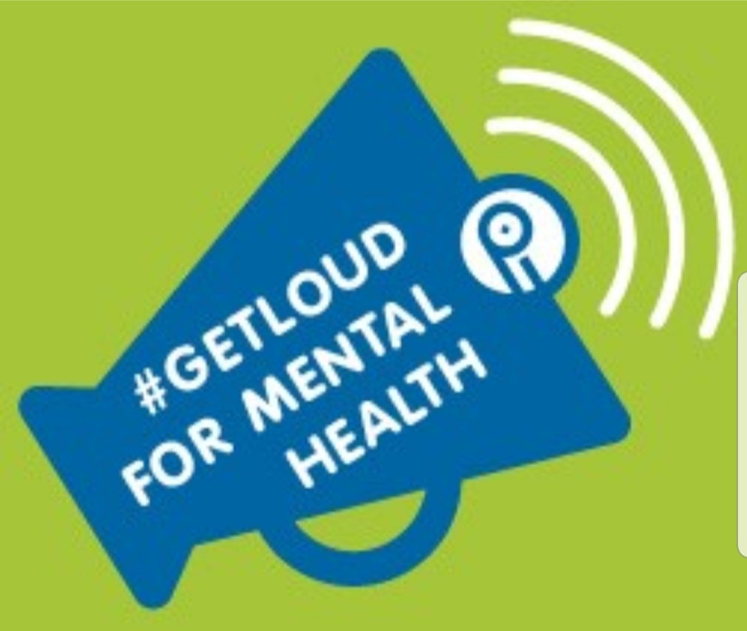It's Mental Health Week: Let's #GetLoudTogether